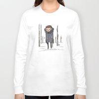 fargo Long Sleeve T-shirts featuring Malvo - Fargo by Un respeto a las canas