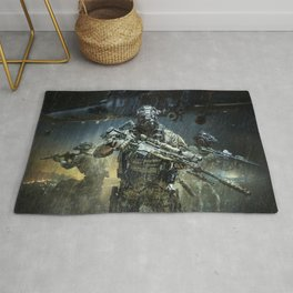 Night time Sniper Hunting Rug