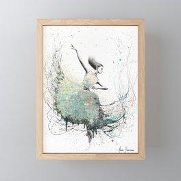 Opal Oasis Dance Framed Mini Art Print