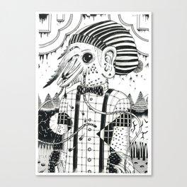camarón indi Canvas Print