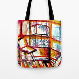 sun times & jerry's window Tote Bag