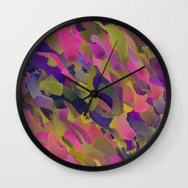 Pink Serenity Wall Clock