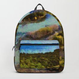 Christian Island, Georgian Bay, Ontario Backpack