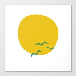 Midsummer Sun Canvas Print