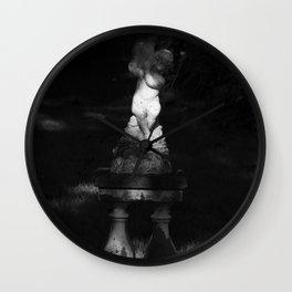 Fountain of light Wall Clock
