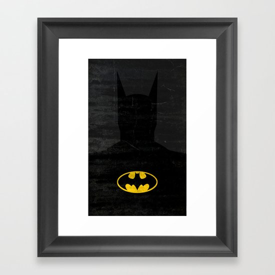 The Bat Framed Art Print