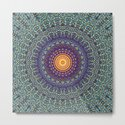 Happy Sun Circle Bohemian Geometric Thread Weave Pattern \\ Yellow Green Blue Purple Color Scheme by bohemianstyle