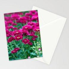 Magenta Blossoms Stationery Cards