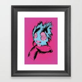 Funny Guy Framed Art Print