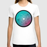 aviation T-shirts featuring Atomic Formation by nicebleed