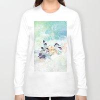 mushroom Long Sleeve T-shirts featuring mushroom by ARTION
