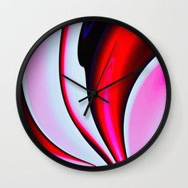 Abstract Fractal Colorways 02BPk Wall Clock