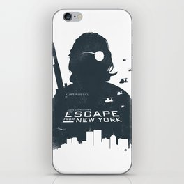 John Carpenter's Escape From New York iPhone Skin