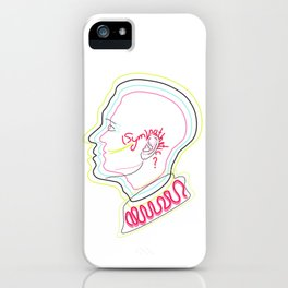 (SYM)PATHETIC iPhone Case