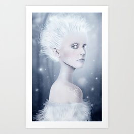 The Spirit of Winter Art Print