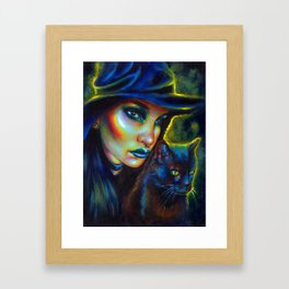 My spirit animal Framed Art Print