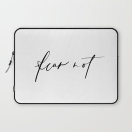 Fear Not Laptop Sleeve
