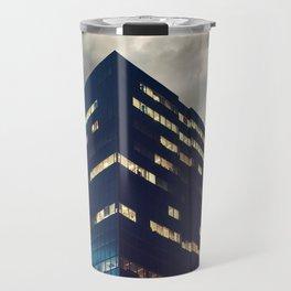 Cube in the Sky Travel Mug