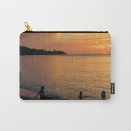 Sunset over Grand Anse Carry-All Pouch