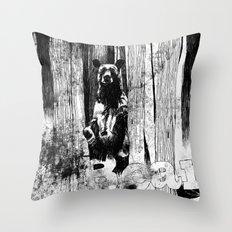 Bear With Me Throw Pillow
