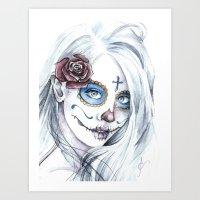 La Bella Muerte  Art Print