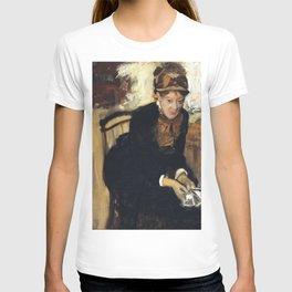 Mary Cassatt by Edgar Degas T-shirt