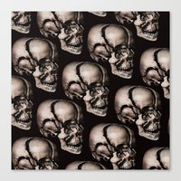 broken Canvas Prints featuring BROKEN by DIVIDUS