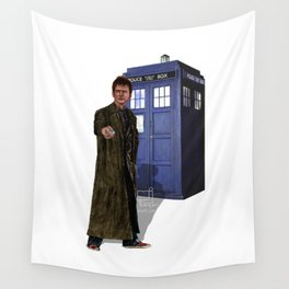10th Doctor Wall Tapestry