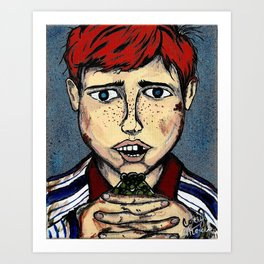 BOYHOOD - What's So Special About A Boy Art Print