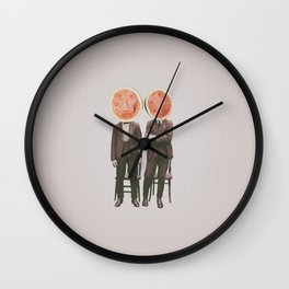 Watermelon Mugshot Wall Clock