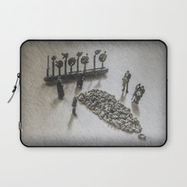 The Curious Case Of Sgt Peppercorn Laptop Sleeve