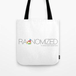 RAdNOMIZED Logo Tote Bag