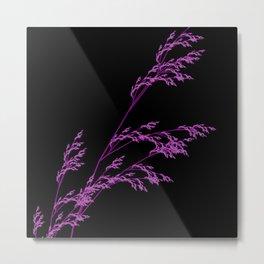 Nature,Minimal,pink Metal Print