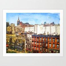 22nd & 8th, NYC Art Print