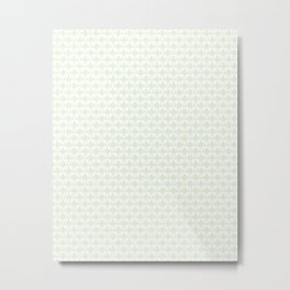 Lis pattern Metal Print
