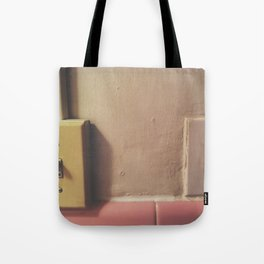 on off Tote Bag
