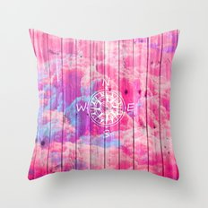 Find the Clouds Throw Pillow