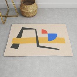 Bauhaus Style Abstract 2 Rug