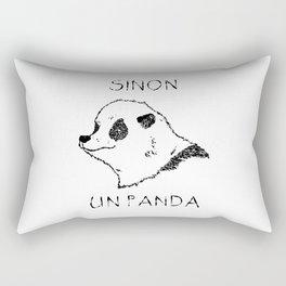 Sinon, un panda (1) Rectangular Pillow