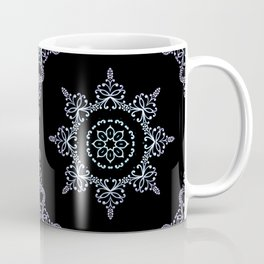 winter star hand drawn kaleidoscope Mandala Coffee Mug