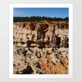 Mind Blowing Bryce Canyon View Art Print
