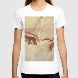 "Michelangelo ""Creation of Adam""(detail) T-shirt"