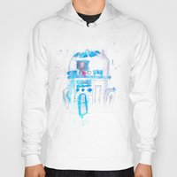 r2d2 Hoodies featuring R2D2 by sooarts