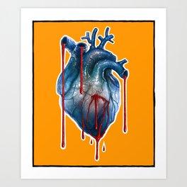 My Cold Heart Art Print