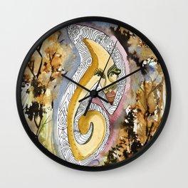 Lady Dee Wall Clock