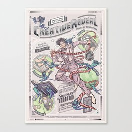 CreativeReveal - Le Designer (Variant Ver.) Canvas Print