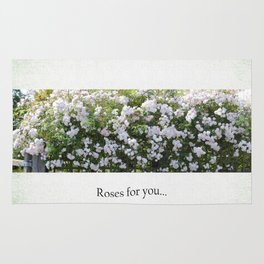 Roses For You Rug