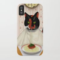 pasta iPhone & iPod Cases featuring Pasta! by Studio Holalola by Mariska Pool