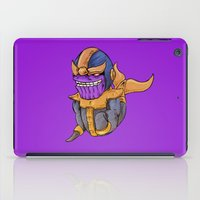 thanos iPad Cases featuring Thanos Whale by CoolBreezDesigns