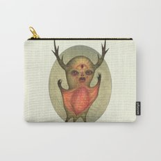 The Green Vampire Stag Creature Carry-All Pouch